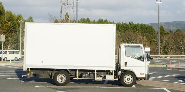 トラック写真箱車